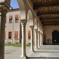 Loggia cortile palazzo Pendaglia Ferrara - Nicola Quirico - Ferrara (FE)