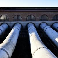 Tubi di deflusso dell'idrovora - Marianna57 - Goro (FE)