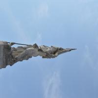 Monumento ai Caduti - Goro - Verso il cielo - Smillallims - Goro (FE)