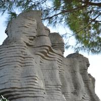 Monumento ai Martiri Macchinina - laterale - Smillallims - Goro (FE)