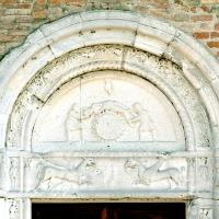 Pieve di San Giorgio, lunetta - Baraldi - Argenta (FE)