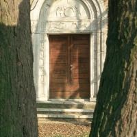 Pieve di San Giorgio, portale - Samaritani - Argenta (FE)