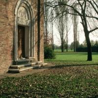 Pieve di San Giorgio, scorcio della facciata - Samaritani - Argenta (FE)