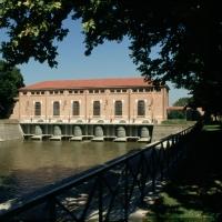 Stabilimento idrovoro Saiarino - Samaritani - Argenta (FE)
