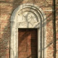 Pieve di San Giorgio. Portale - Samaritani - Argenta (FE)