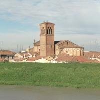 Chiesa della Natività di Maria. Campanile - Samaritani - Bondeno (FE)
