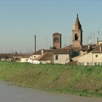 Chiesa della Natività di Maria e campanile della Chiesa dei Servi - Samaritani - Bondeno (FE)