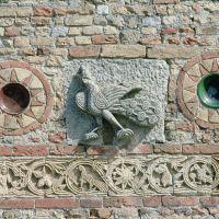 Abbazia di Pomposa. Decorazioni marmoree della facciata - Samaritani - Codigoro (FE)