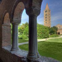 Abbazia di Pomposa, campanile porticato Palazzo della Ragione - Massimo BAraldi - Codigoro (FE)