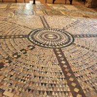 Pomposa, abbazia, interno, pavimento 01 - Sailko - Codigoro (FE)