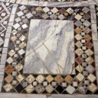 Pomposa, abbazia, interno, pavimento 06 - Sailko - Codigoro (FE)