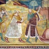 Scuola bolognese, ciclo dell'abbazia di pomposa, 1350 ca., nuovo testamento, 03 adorazione dei magi 2 - Sailko - Codigoro (FE)