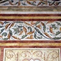 Pomposa, abbazia, refettorio, affreschi giotteschi riminesi del 1316-20, ornati 06 - Sailko - Codigoro (FE)