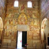 Scuola bolognese, ciclo dell'abbazia di pomposa, 1350 ca., giudizio universale 01 - Sailko - Codigoro (FE)