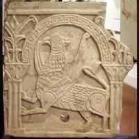 Lastra di pluteo in marmo greco, xi secolo - Sailko - Codigoro (FE)