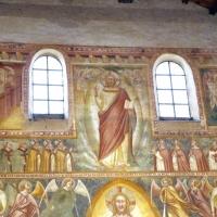 Scuola bolognese, ciclo dell'abbazia di pomposa, 1350 ca., giudizio universale, ritorno di cristo 01 - Sailko - Codigoro (FE)