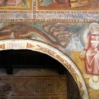 Scuola bolognese, ciclo dell'abbazia di pomposa, 1350 ca., apocalisse, 09 drago 1 - Sailko - Codigoro (FE)