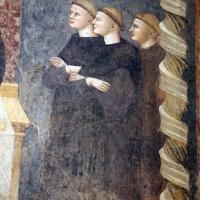 Pomposa, abbazia, refettorio, affreschi giotteschi riminesi del 1316-20, miracolo dell'abate guido strambiati 06 - Sailko - Codigoro (FE)
