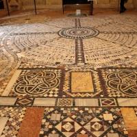 Pomposa, abbazia, interno, pavimento 05 - Sailko - Codigoro (FE)