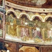 Vitale da bologna e aiuti, cristo in maestà, angeli, santi e storie di s. eustachio, 1351, 14 - Sailko - Codigoro (FE)