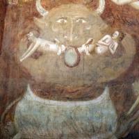 Scuola bolognese, ciclo dell'abbazia di pomposa, 1350 ca., giudizio universale, inferno 03 diavolo - Sailko - Codigoro (FE)