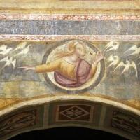 Scuola bolognese, ciclo dell'abbazia di pomposa, 1350 ca., apocalisse, 18 sette uccelli 1 - Sailko - Codigoro (FE)