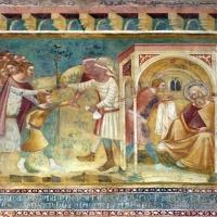 Scuola bolognese, ciclo dell'abbazia di pomposa, 1350 ca., vecchio testamento, 07 giuseppe venduto - Sailko - Codigoro (FE)