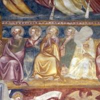 Scuola bolognese, ciclo dell'abbazia di pomposa, 1350 ca., giudizio universale, apostoli 02 - Sailko - Codigoro (FE)