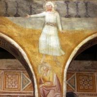 Scuola bolognese, ciclo dell'abbazia di pomposa, 1350 ca., apocalisse, 02 parola di gesù affilata come spada 1 - Sailko - Codigoro (FE)