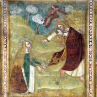 Scuola bolognese, ciclo dell'abbazia di pomposa, 1350 ca., nuovo testamento, 17 noli me tangere - Sailko - Codigoro (FE)
