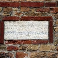Pomposa, abbazia, atrio di mazulo del 1000-1050 ca., decori in cotto e in marmo 11 lapide - Sailko - Codigoro (FE)
