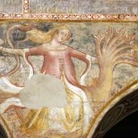 Scuola bolognese, ciclo dell'abbazia di pomposa, 1350 ca., apocalisse, 16 bebilonia grande meretrice 3 - Sailko - Codigoro (FE)