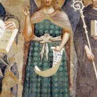 Pomposa, abbazia, refettorio, affreschi giotteschi riminesi del 1316-20, deesis 04 battista - Sailko - Codigoro (FE)