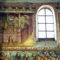 Scuola bolognese, ciclo dell'abbazia di pomposa, 1350 ca., giudizio universale, città celeste - Sailko - Codigoro (FE)