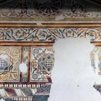 Pomposa, abbazia, refettorio, affreschi giotteschi riminesi del 1316-20, ornati 02 - Sailko - Codigoro (FE)