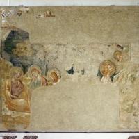 Pomposa, abbazia, refettorio, affreschi giotteschi riminesi del 1316-20, orazione nell'orto 01 - Sailko - Codigoro (FE)
