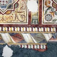 Pomposa, abbazia, refettorio, affreschi giotteschi riminesi del 1316-20, ornati 03 - Sailko - Codigoro (FE)
