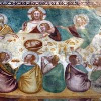 Scuola bolognese, ciclo dell'abbazia di pomposa, 1350 ca., nuovo testamento, 12 ultima cena 3 - Sailko - Codigoro (FE)