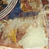 Vitale da bologna e aiuti, cristo in maestà, angeli, santi e storie di s. eustachio, 1351, 12 - Sailko - Codigoro (FE)