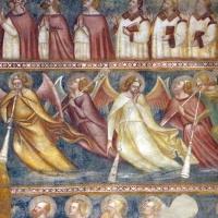 Scuola bolognese, ciclo dell'abbazia di pomposa, 1350 ca., giudizio universale, angeli dell'apocalisse - Sailko - Codigoro (FE)