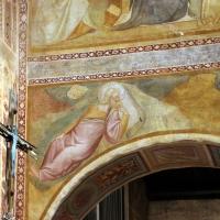 Scuola bolognese, ciclo dell'abbazia di pomposa, 1350 ca., apocalisse, 01 visione di s. giovanni - Sailko - Codigoro (FE)