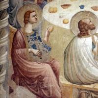 Pomposa, abbazia, refettorio, affreschi giotteschi riminesi del 1316-20, ultima cena 03 - Sailko - Codigoro (FE)