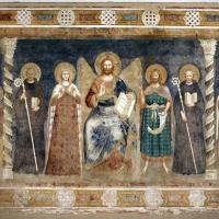 Pomposa, abbazia, refettorio, affreschi giotteschi riminesi del 1316-20, deesis 01 - Sailko - Codigoro (FE)