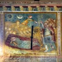 Scuola bolognese, ciclo dell'abbazia di pomposa, 1350 ca., vecchio testamento, 08 sogno di nabucodonosor - Sailko - Codigoro (FE)