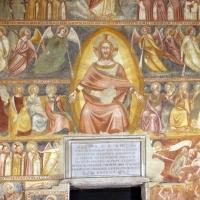 Scuola bolognese, ciclo dell'abbazia di pomposa, 1350 ca., giudizio universale, cristo giudice 01 - Sailko - Codigoro (FE)