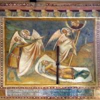 Scuola bolognese, ciclo dell'abbazia di pomposa, 1350 ca., vecchio testamento, 06 sogno di giacobbe - Sailko - Codigoro (FE)