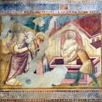 Scuola bolognese, ciclo dell'abbazia di pomposa, 1350 ca., nuovo testamento, 10 resurrezione di lazzaro - Sailko - Codigoro (FE)