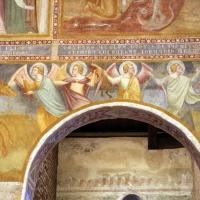 Scuola bolognese, ciclo dell'abbazia di pomposa, 1350 ca., apocalisse, 05,1 angeli 1 - Sailko - Codigoro (FE)