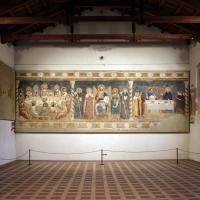 Pomposa, abbazia, refettorio, affreschi giotteschi riminesi del 1316-20, 01 - Sailko - Codigoro (FE)