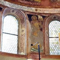Vitale da bologna e aiuti, cristo in maestà, angeli, santi e storie di s. eustachio, 1351, 16 - Sailko - Codigoro (FE)